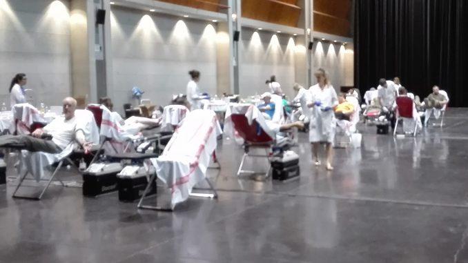 maratón de donación de sangre en Zaragoza