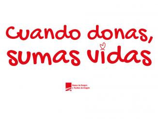 Cuando donas sumas vidas