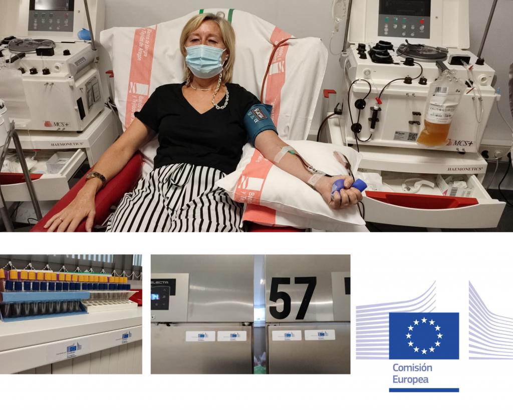 Llegan fondos de la comisión europea para la donación de plasma en el Banco de Sangre y Tejidos del Gobierno de Aragón