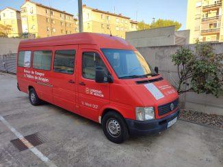unidad movil de promocion de la donacion de sangre